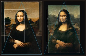24_Golden Ratio_'Earlier Mona Lisa' (L) and Louvre 'Mona Lisa'