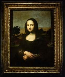 2_'Earlier Mona Lisa' Framed