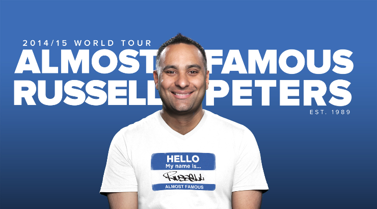 Russell Peters, Almost Famous World Tour ��� Live In Singapore