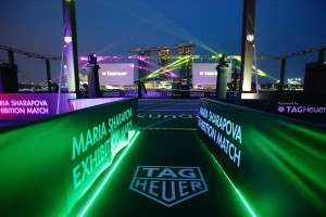 Maria Sharapova & Michael Chang to Play on Singapore's 1st Floating Tennis Platform
