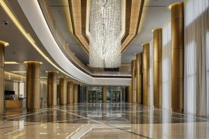 06 The Westin Doha - ballroom foyer downstairs