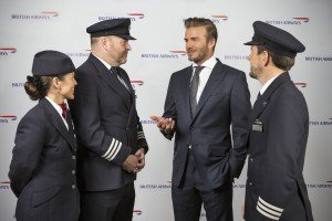 David Beckham talks travel with British Airways pilots and cabin crew (c) Wouter Kingma