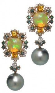 SIMONE-Mystical Nile Cushion Opals