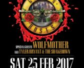 Tyler Bryant & The Shakedown to join Guns N' Roses in Singapore !