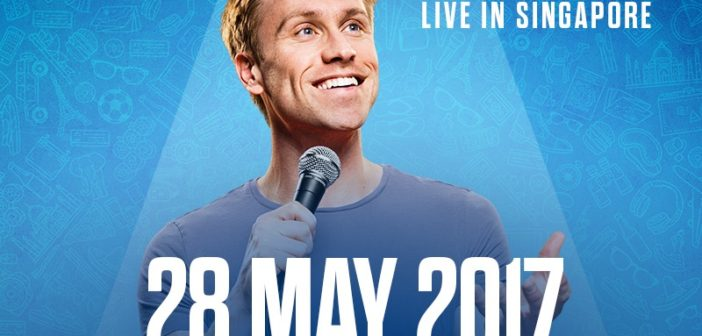 Russell Howard to bring massive global comedy tour 'Round The World' to Singapore !