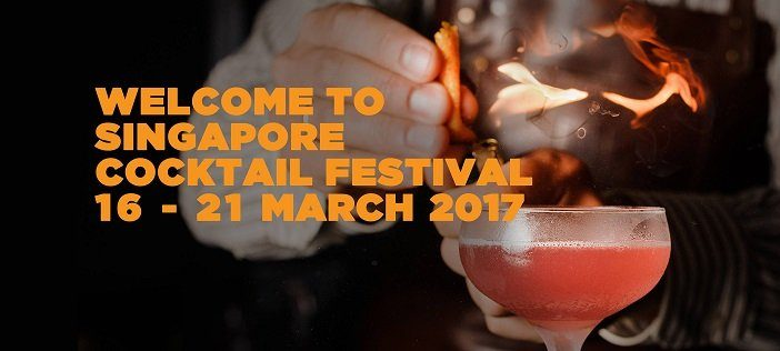 A sensorial experience at the Singapore Cocktail Festival 2017 !