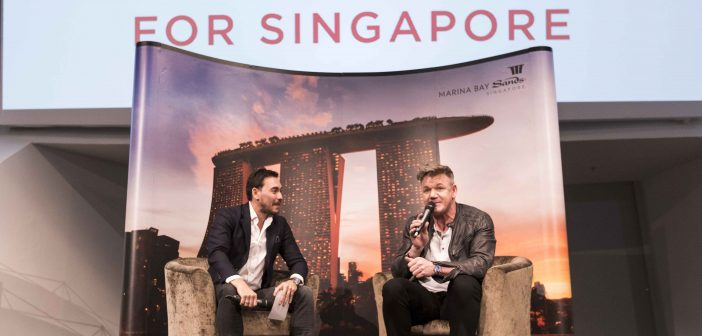 Gordon Ramsay dishes out life lessons to youth at Marina Bay Sands