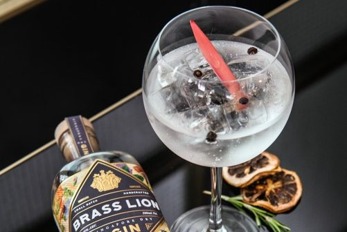 Brass Lion Distillery within the Lion City