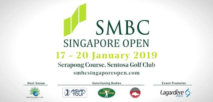 SMBC SINGAPORE OPEN TO COMMENCE 2019 SEASON AND RETURNS AS PART OF OPEN QUALIFYING SERIES !
